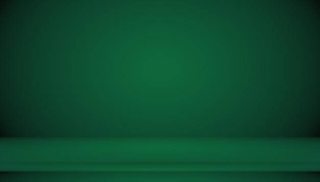 Lo studio verde vuoto può essere utilizzato come sfondo, modello di sito web, cornice, rapporto aziendale.