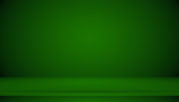 空のグリーンスタジオは、背景、ウェブサイトテンプレート、フレーム、ビジネスレポートとしてよく使用します。