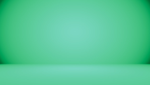 Empty green studio well use as background,website template,frame,business report