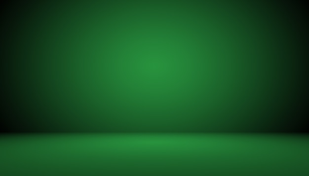 Пустая зеленая студия хорошо использовать в качестве фона, шаблона веб-сайта, рамки, бизнес-отчета