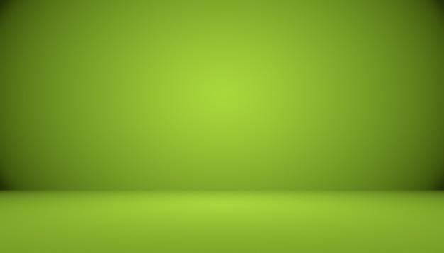Пустая зеленая студия, которую можно использовать в качестве фона, шаблон веб-сайта, рамка, бизнес-отчет