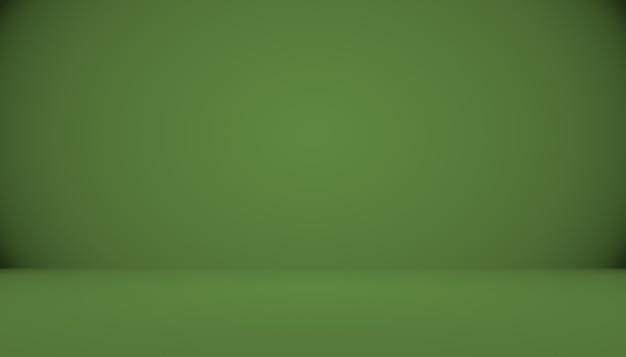 Studio verde vuoto bene da usare come sfondomodello del sito webframerapporto aziendale