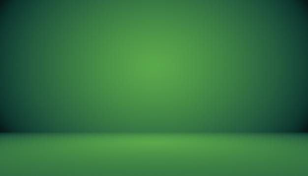 Empty green studio well use as backgroundwebsite templateframebusiness report