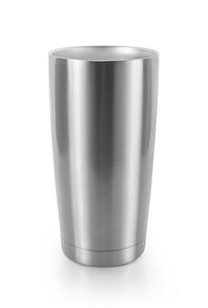 空のホットカップは、白い背景で隔離。