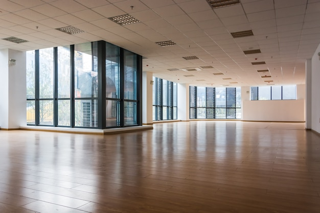 Empty interior of modern corporate office