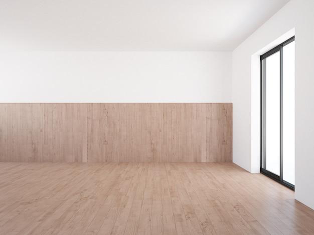 뒤뜰에서 볼 수있는 terrece 창 빈 거실