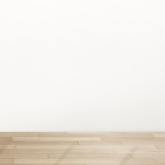 Empty minimal room interior design with natural light Free Photo