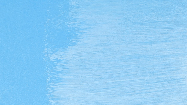 Empty monochromatic blue paint strokes background