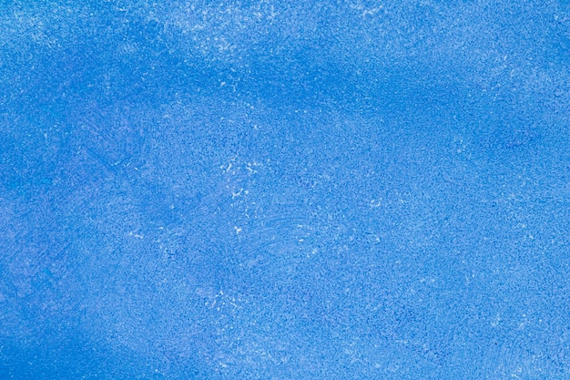Empty monochromatic blue texture