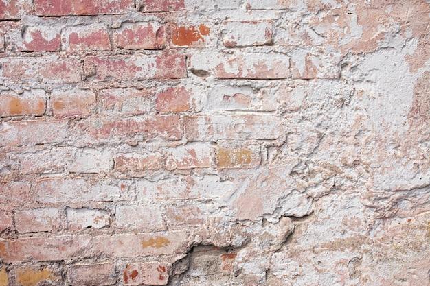 空の古いれんが造りの壁テクスチャ。
