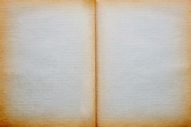 Empty old vintage page paper texture background.