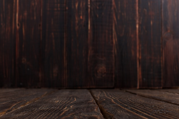 Empty old wooden background, rustic design, copyspace.