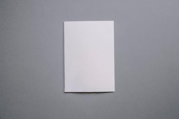 Empty paper mockup