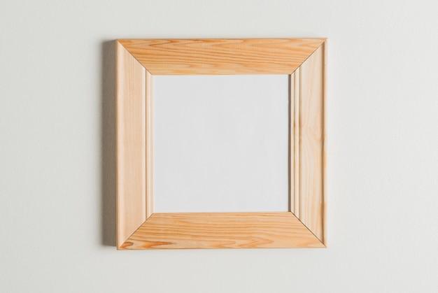 Empty photo frame isolated on white background