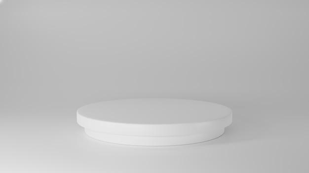 Пустой подиум для продуктов 3d-рендеринга