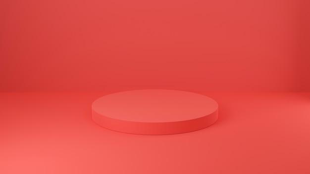 Пустой подиум для продуктов Premium Фотографии