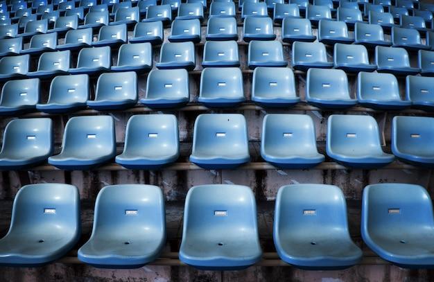 Empty seat on stadium for sport fanclub