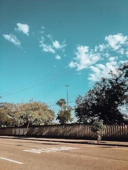 코로나바이러스 전염병 동안 브라질 리우데자네이루의 텅 빈 거리