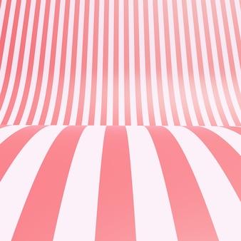Пустая полосатая конфета розовая шелковая ткань текстуры фона
