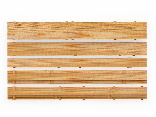 Пустая поверхность деревянных досок вид сверху