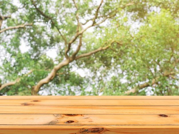 Empty texture foliage wood plank