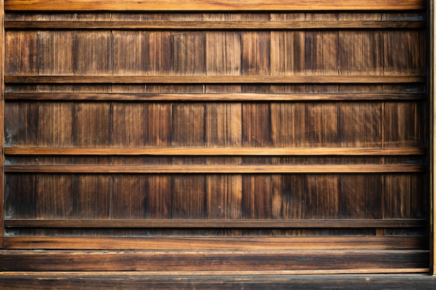 Empty top shelves or table wood on concrete wood background. for put product and some thin