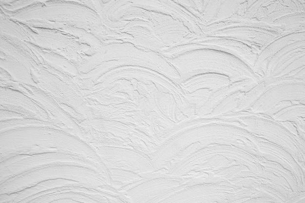空の白いコンクリートの壁のテクスチャ