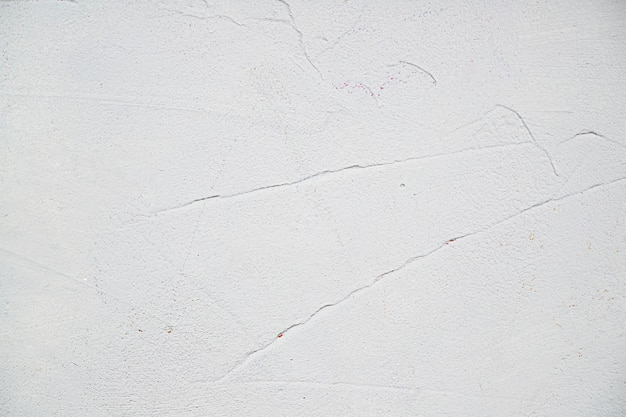 Empty white painted textured wall