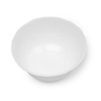 Empty white piala, isolate on a white background