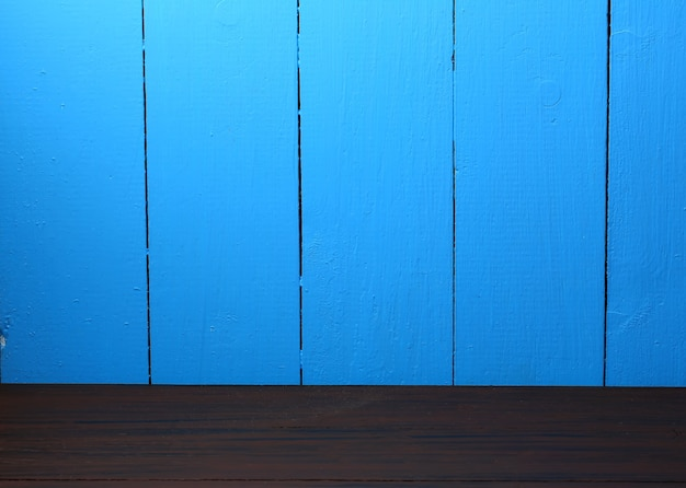 Empty wooden background in retro style double for product advertising