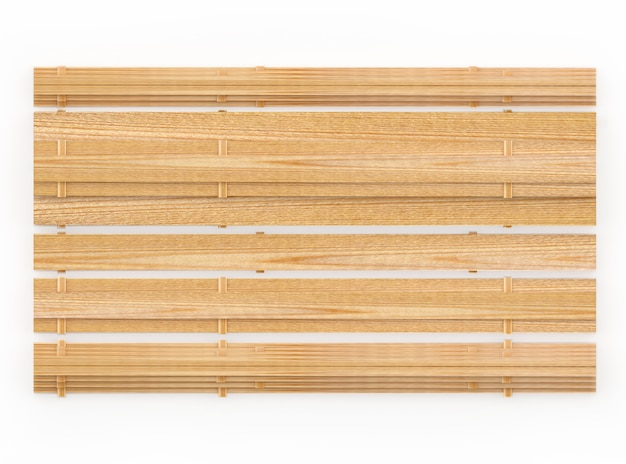 Вид сверху пустые деревянные доски