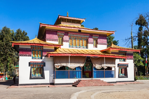 The enchey monastery