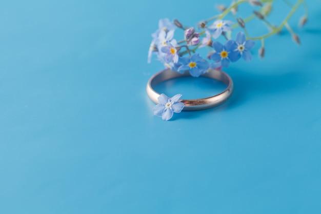 忘れな草との婚約指輪/ロマンチックなシーン