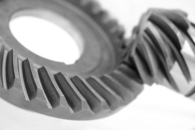 엔진 기어 바퀴, 산업 개념 배경