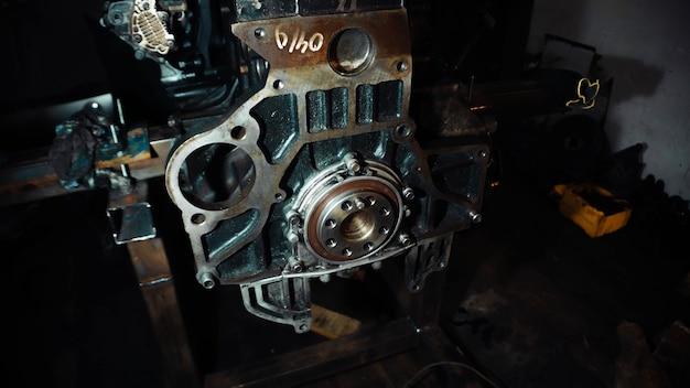 エンジンオーバーホール燃焼室シリンダー