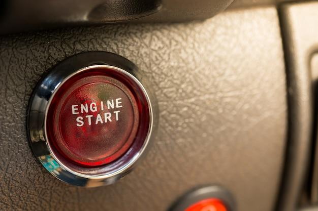 Engine start button,copy space.