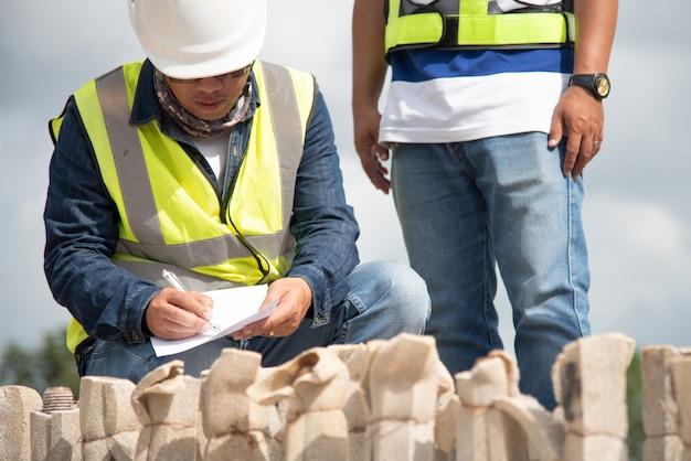 Engineering inspection construction work