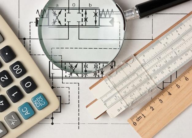 テクニカルドローイングのエンジニアリングツール