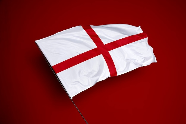 England flag on the background