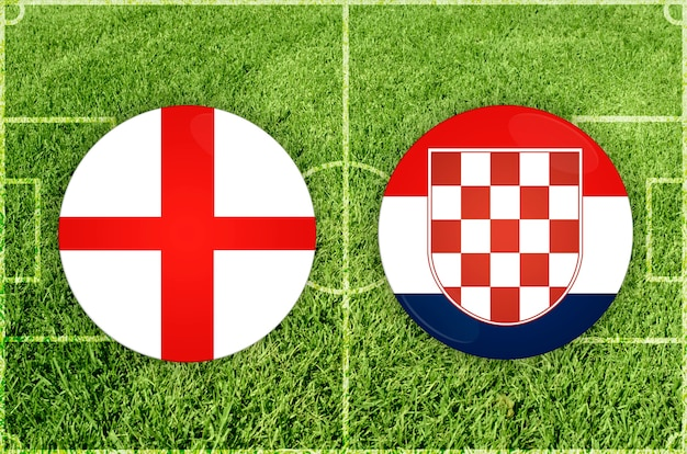 잉글랜드 대 크로아티아 축구 경기