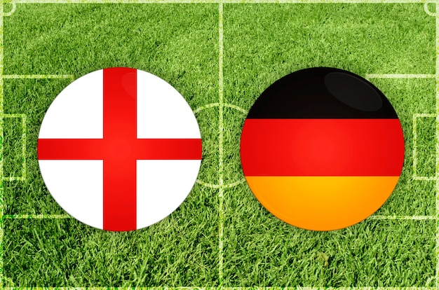 잉글랜드 대 독일 축구 경기