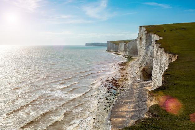 잉글 리치 채널과 세븐 시스터즈는 잉글리쉬 채널에 의한 일련의 분필 절벽입니다.