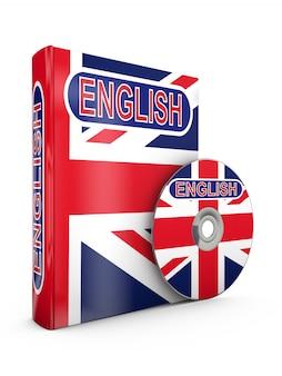 English book and cd