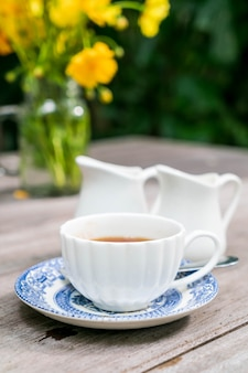 Английский чай на столе