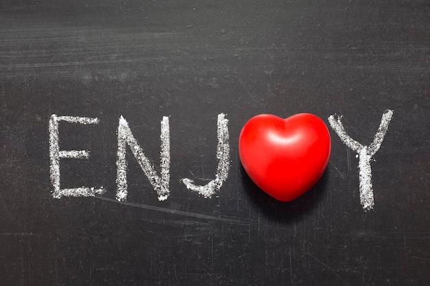 学校の黒板に手書きの単語をお楽しみください