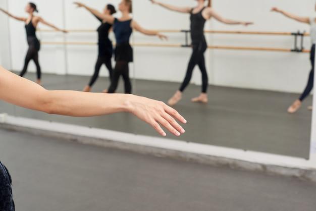 Enjoying ballet