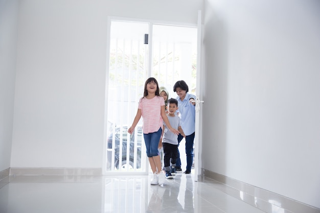 Entering new house to buy