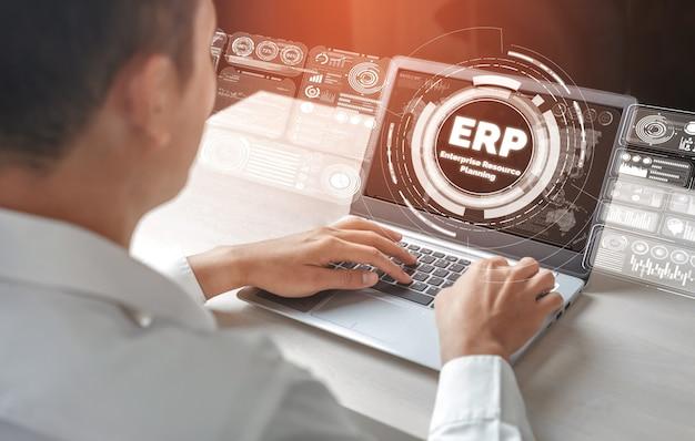 Программная система erp для управления ресурсами предприятия для планирования бизнес-ресурсов