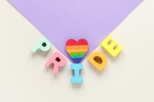 Envelope with pride day text
