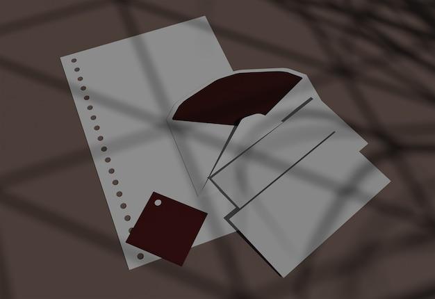 봉투 및 내용